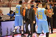 DESCRIZIONE : Pistoia campionato serie A 2013/14 Giorgio Tesi Group Pistoia Vanoli Cremona <br /> GIOCATORE : Luigi Cresta<br /> CATEGORIA : allenatore coach pre game<br /> SQUADRA : Vanoli Cremona<br /> EVENTO : Campionato serie A 2013/14<br /> GARA : Giorgio Tesi Group Pistoia Vanoli Cremona <br /> DATA : 10/11/2013<br /> SPORT : Pallacanestro <br /> AUTORE : Agenzia Ciamillo-Castoria/GiulioCiamillo<br /> Galleria : Lega Basket A 2013-2014  <br /> Fotonotizia : Pistoia campionato serie A 2013/14 Giorgio Tesi Group Pistoia Vanoli Cremona<br /> Predefinita :