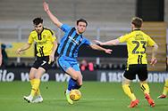 Gillingham defender Luke O'Neill on the ball during the EFL Sky Bet League 1 match between Burton Albion and Gillingham at the Pirelli Stadium, Burton upon Trent, England on 12 January 2019.