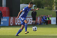 Hanan Hen Biton of Israel (3) during the UEFA European Under 17 Championship 2018 match between Israel and Italy at St George's Park National Football Centre, Burton-Upon-Trent, United Kingdom on 10 May 2018. Picture by Mick Haynes.