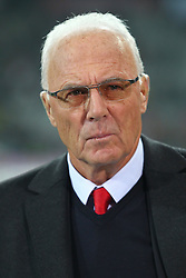 02.11.2011, Allianz Arena, Muenchen, GER, UEFA CL, FC Bayern Muenchen vs. SSC Neapel, im Bild Franz Beckenbauer (Bayern) // during the CL match  FC Bayern Muenchen (GER)  vs.  SSC Neapel  (ITA) Gruppe A, on 2011/11/02, Allianz Arena, Munich, Germany, EXPA Pictures © 2011, PhotoCredit: EXPA/ nph/  Straubmeier       ****** out of GER / CRO  / BEL ******
