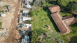 Fotos aéreas da sede do SESI na rua Paulino Gonçalves Barcelos, 307 - bairro Rubem Berta, em Porto Alegre. Foto: Jefferson Bernardes/ Agência Preview