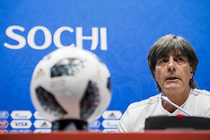 German Training and  Press Conference - 22 June 2018