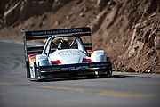 June 26-30 - Pikes Peak Colorado.  Rod Millen works through sector 2 on the mountain during practice for the 91st running of the Pikes Peak Hill Climb.