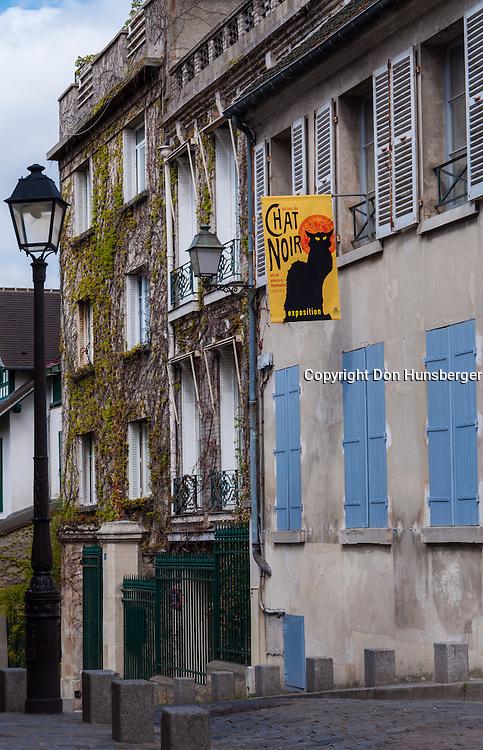 Le Chat Noir, Montmartre, Paris