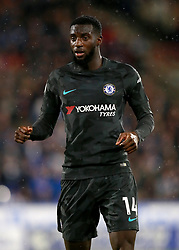 """Chelsea's Tiemoue Bakayoko during the Premier League match at the John Smith's Stadium, Huddersfield. PRESS ASSOCIATION Photo. Picture date: Tuesday December 12, 2017. See PA story SOCCER Huddersfield. Photo credit should read: Mike Egerton/PA Wire. RESTRICTIONS: EDITORIAL USE ONLY No use with unauthorised audio, video, data, fixture lists, club/league logos or """"live"""" services. Online in-match use limited to 75 images, no video emulation. No use in betting, games or single club/league/player publications."""