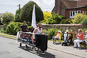 The second annual Catsfield Boat Race. East Sussex. 4 June 2017