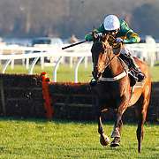 My Tent Or Yours and A P McCoy winning the 2.35 race