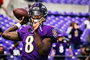 October 13, 2019<br /> The Baltimore Ravens vs the Cincinnati Bengals at M&T Bank Stadium in Baltimore, MD. Ravens won 23-17.
