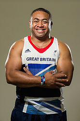Studio Portrait of Derek Derenalagi, GB Discus thrower at the London 2012 Paralympics. Photo by Anthony Upton / i-Images..The author is asserting his full Moral rights in relation to the publication of this image. All rights reserved. Rights for onward transmission of any image or file is not granted or implied. Changing or deleting Copyright information is illegal as specified in the Copyright, Design and Patents Act 1988. If you are in any way unsure of your right to publish this image please contact Anthony Upton on +44(0)7973 830 517 or email: