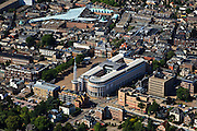 Nederland, Gelderland, Apeldoorn, 30-06-2011;.Stadhuis en centrum..City hall and center of Apeldoorn (central Netherlands).luchtfoto (toeslag), aerial photo (additional fee required).copyright foto/photo Siebe Swart