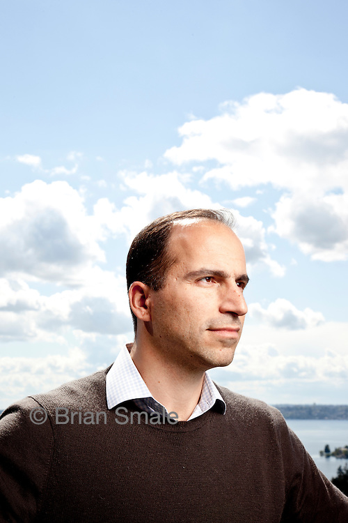 Dara Khosrowshahi, CEO of Expedia.com, photographed by Brian Smale in Bellevue, WA.