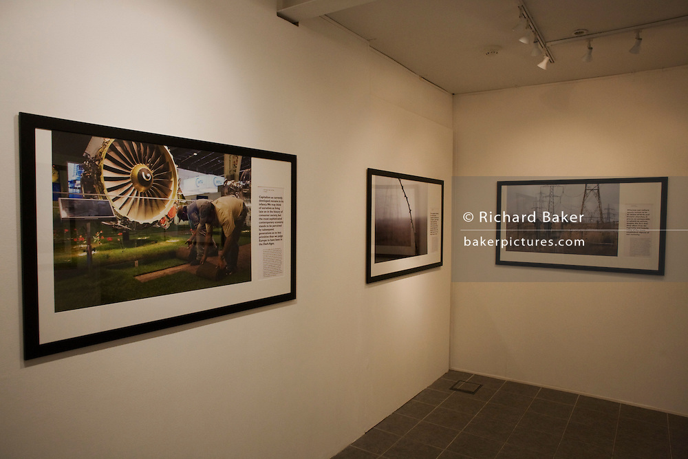 Richard Baker's photography from the book project The Pleasures and Sorrows of Work, exhibited at the Museum of the History of Science on Broad Street, Oxford from April - September 2010.