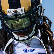 Defensive back Mark Barron #26 during the Los Angeles Rams training camp day 11 on Thursday, August 11, 2016 at UC Irvine in Irvine, Calif. (Ric Tapia/Rams)