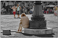 """Day Tripper - Florence """" is a street photography series by photographer Paul Williams taken in 19th September 2007. .<br /> <br /> Visit our REPORTAGE & STREET PEOPLE PHOTO ART PRINT COLLECTIONS for more wall art photos to browse https://funkystock.photoshelter.com/gallery-collection/People-Photo-art-Prints-by-Photographer-Paul-Williams/C0000g1LA1LacMD8"""