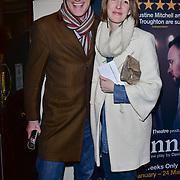 London, England, UK. 23 January 2018.Jeremy Vine Arrivers at Beginning - press night at Ambassadors Theatre.