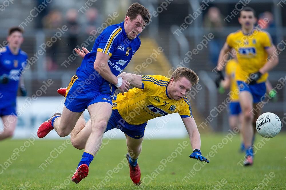 Clare's Kieran Malone V Roscommon's Niall Daly