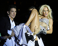Argentine International Soccer player LIONEL MESSI new GIRL FRIEND.<br /> The Argentine main press relate Today that LIONEL MESSI in in a HIGH FIRE ROMANCE with the Argentine top nigh dancer LUCIANA SALAZAR.<br /> File Pictures form Buenos Aires, in June 2008<br /> © PikoPress