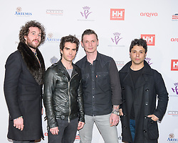 The Stereophonics <br /> Prince Harry, Patron of the Walking With The Wounded South Pole Allied Challenge, attends the charity's Crystal Ball at the Grosvenor House Hotel, central London.<br /> The event hosted by Ben Fogle, with music Ellie Goulding and The Stereophonics. Also present were Olympian Matthew Pinsent CBE and Team Glenfiddich. The team of wounded service personnel will accompany the Prince on an expedition to the South Pole later this year, London,<br /> Thursday, 30th May 2013<br /> Picture by Anthony Upton / i-Images