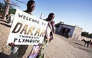 Arriving in Senegal