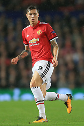 12th September 2017 - UEFA Champions League - Group A - Manchester United v FC Basel - Victor Lindelof of Man Utd - Photo: Simon Stacpoole / Offside.