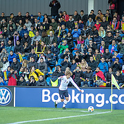 ANDORRA LA VELLA, ANDORRA. June 1.  Antoine Griezmann #7 of France takes a corner during the Andorra V France 2020 European Championship Qualifying, Group H match at the Estadi Nacional d'Andorra on June 11th 2019 in Andorra (Photo by Tim Clayton/Corbis via Getty Images)
