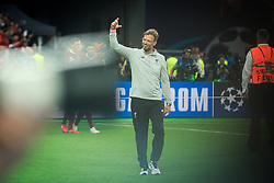 Jürgen Klopp, general manager of Liverpool after the UEFA Champions League final football match between Liverpool and Real Madrid and became Champions League  2018 Champions third time in a row at the Olympic Stadium in Kiev, Ukraine on May 26, 2018.Photo by Sandi Fiser / Sportida
