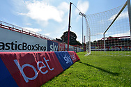 SkyBet Advertising during the EFL Sky Bet League 1 match between Accrington Stanley and Scunthorpe United at the Fraser Eagle Stadium, Accrington, England on 1 September 2018.