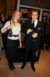 ANDREA KING and PETER YORK at the launch of Dunhill by Design by Nick Foulkes held at Alfred Dunhill, 48 Jermyn Street, London on 24th October 2006.<br /><br />NON EXCLUSIVE - WORLD RIGHTS