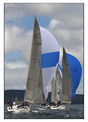 The third days racing at the Bell Lawrie Yachting Series in Tarbert Loch Fyne ..Perfect conditions finally arrived for competitors on the three race courses...Swan 45.GBR9050 Piper at the Gates , Charles Swingland RSY.GBR945R Fever, Gordon / Diderichs , RORC.GBR92R Murka 2 , Mikhail Mouratov RSYC.GBR6R Crackerjack , Keith Miller..