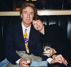 Gene Wilder with his wife Karen Boyer / action press