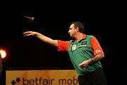 Darts: Betfair Team World Cup 2013, Hamburg, 03.02.2013<br /> Richie Burnett (WAL)<br /> © Torsten Helmke