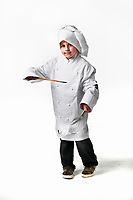 Kid model Jospeh Bagnato as a chef. There s a rush on Uni places - but which courses/fields should students or non-school leavers be choosing to maximise their job prospects?<br />  Pic By Craig Sillitoe 16/10/2009 SPECIAL 000