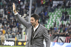 May 19, 2019 - Turin, Piedmont, Italy - Gianluigi Buffon of PSG guest during the Serie A football match between Juventus FC and Atalanta BC at Allianz Stadium on May 19, 2019 in Turin, Italy. (Credit Image: © Massimiliano Ferraro/NurPhoto via ZUMA Press)