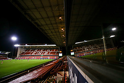 A general view of the City Ground during Nottingham Forest v Middlesbrough in the Sky Bet Championship - Mandatory by-line: Robbie Stephenson/JMP - 20/01/2021 - FOOTBALL - City Ground - Nottingham, England - Nottingham Forest v Middlesbrough - Sky Bet Championship