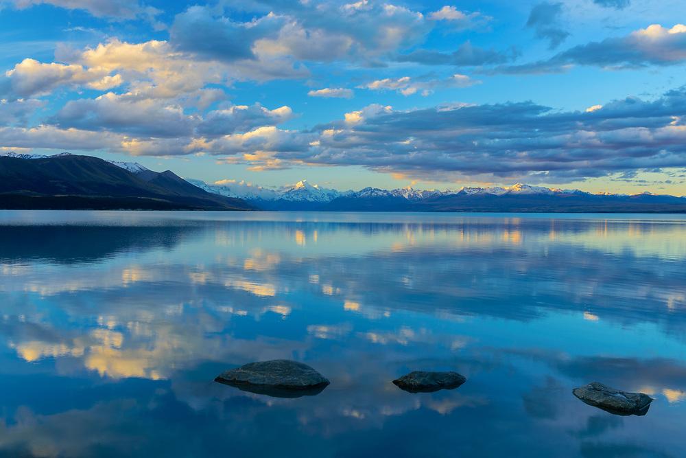 Oceania, New Zealand, Aotearoa, South Island, Lake Pukaki