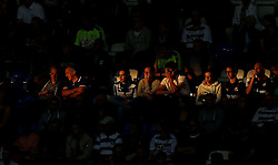 Reading fans watch their side at The Madejski Stadium as a shard of light from the sun shines on them - Mandatory by-line: Robbie Stephenson/JMP - 29/07/2016 - FOOTBALL - Madejski Stadium - Reading, England - Reading v AFC Bournemouth - Pre-season friendly
