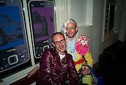 SIMON PHIPPS; JOHNNY WOO, Nokia 'Capsule N96' ,  launch party. Century Club, 61-63 Shaftesbury Avenue, London *** Local Caption *** -DO NOT ARCHIVE-© Copyright Photograph by Dafydd Jones. 248 Clapham Rd. London SW9 0PZ. Tel 0207 820 0771. www.dafjones.com.