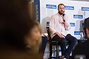 Kevin Haller talks during the Business of Cannabis event at the Silicon Valley Capital Club in San Jose, California, on April 4, 2019. (Stan Olszewski for Silicon Valley Business Journal)