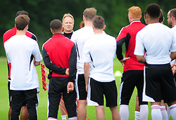 Bristol City's head coach, Sean O'Driscoll addresses the squad - Photo mandatory by-line: Dougie Allward/JMP - Tel: Mobile: 07966 386802 28/06/2013 - SPORT - FOOTBALL - Bristol -  Bristol City - Pre Season Training - Npower League One