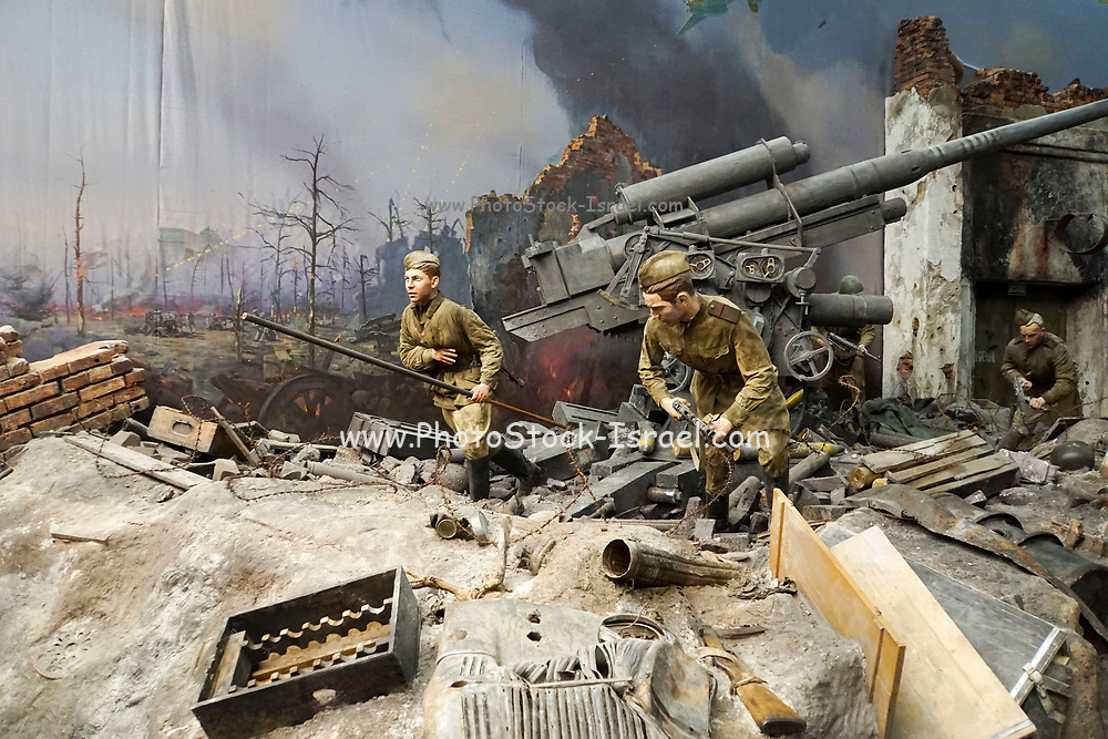 interior of the Museum of the Great Patriotic War, Park Pobedy (Victory Park), Moscow, Russia