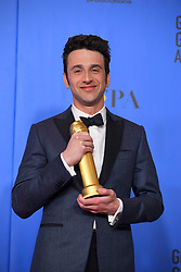 January 6, 2019 - Los Angeles, California, U.S. - Justin Hurwitz in the Press Room during the 76th Annual Golden Globe Awards at The Beverly Hilton Hotel. (Credit Image: © Kevin Sullivan via ZUMA Wire)