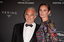 Alain Terzian , Brune de Margerie attending the Kering Women In Motion Awards Dinner ahead the 70th Cannes Film Festival, in Cannes, France on May 21, 2017. Photo Julien Reynaud/APS-Medias/ABACAPRESS.COM