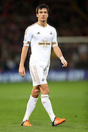 Jack Cork of Swansea City looks on. Barclays Premier League match, Crystal Palace v Swansea city at Selhurst Park in London on Monday 28th December 2015.<br /> pic by John Patrick Fletcher, Andrew Orchard sports photography.