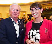 Patrick McCabe Galway City  and Deidre O Hara Bearna  at the Gorta Self Help Africa Annual Ball at the Galway Bay Hotel, Salthill Galway.<br /> Photo:Andrew Downes, xposure.