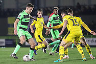 Forest Green Rovers Paul Digby(20) runs forward during the The FA Cup 1st round replay match between Forest Green Rovers and Oxford United at the New Lawn, Forest Green, United Kingdom on 20 November 2018.