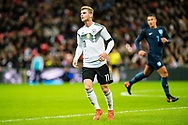 Germany (11) Werner during the Friendly match between England and Germany at Wembley Stadium, London, England on 10 November 2017. Photo by Sebastian Frej.
