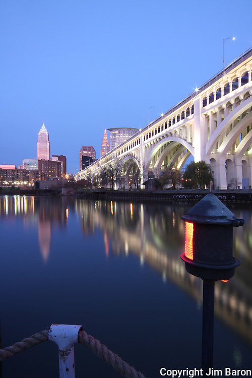 Cleveland Ohio skylines produced by Baron Photography