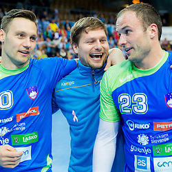 20141029: SLO, Handball - 2016 Men's European Championship, Qualification 2, Slovenia vs Slovakia