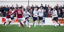 Linlithgow Rose Tommy Coyne shots.<br /> Linlithgow Rose 0 v 2 Raith Rovers, William Hill Scottish Cup Third Round game player today at Prestonfield.