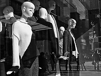 Mannequins on 42nd street and Fifth Avenue